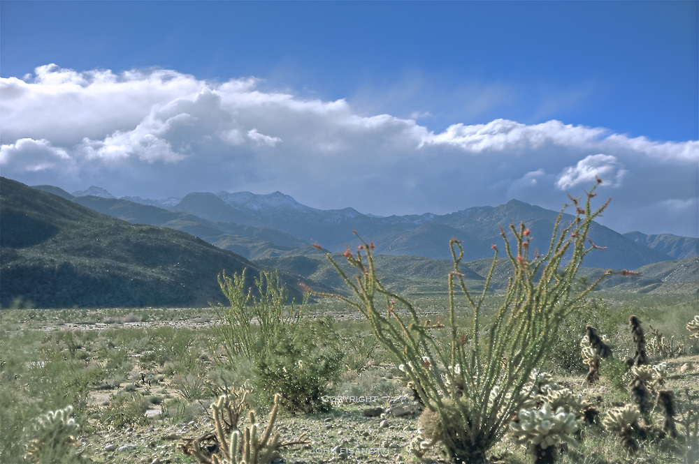 A view near Coyote Canyon