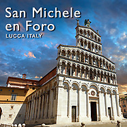 Pictures of Romanesque Basilica San Michele in Foro Lucca. Images Photos.