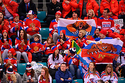 23.02.2018, Gangneung Hockey Centre, Gangneung, KOR, PyeongChang 2018, Eishockey Semifinale, Tschechien vs OAR, im Bild Fans // during the ice hockey semifinal match between Czech Republic vs OAR of the Pyeongchang 2018 Winter Olympic Games at the Gangneung Hockey Centre in Gangneung, South Korea on 2018/02/23. EXPA Pictures © 2018, PhotoCredit: EXPA/ Pressesports/ Jerome Prevost<br /> <br /> *****ATTENTION - for AUT, SLO, CRO, SRB, BIH, MAZ, POL only*****