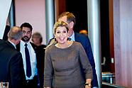 Queen Maxima attends Schuldenlab, Utrecht 06-11-2019