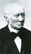 Ludwig Windhorst (1812-1891), leader of the Centre Party in Germany. A devout Roman Catholic, he opposed Bismarck over his Kulturkampf anti-Catholic policies.  Windhorst in 1885.
