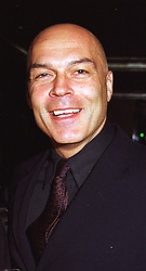 MR CHRISTIAN GROSS the former manager of Tottenham Hotspur FC. at a party in London on 16th April 1999.MRD 30 MO