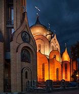 Białystok. Największa polska cerkiew nocą