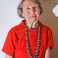 090308       Independent File Photo<br /> <br /> Octavia Fellin was the librarian of the Gallup Public Library for 43 years.