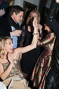 ANASTASIA WEBSTER, Pete & Caroline Tong and Yasmin Mills Christmas Party. Baroque, The Playboy Club, Old Park Lane, London. 15 December 2012.