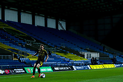 Sam Nicholson of Bristol Rovers controls the ball in front of an empty stand - Mandatory by-line: Robbie Stephenson/JMP - 06/10/2020 - FOOTBALL - Kassam Stadium - Oxford, England - Oxford United v Bristol Rovers - Leasing.com Trophy