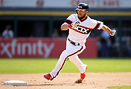 CHICAGO - SEPTEMBER 10:  Yolmer Sanchez #5 of the Chicago White Sox runs the bases against the San Francisco Giants on September 10, 2017 at Guaranteed Rate Field in Chicago, Illinois.  The White Sox defeated the Giants 8-1.  (Photo by Ron Vesely) Subject:   Yolmer Sanchez