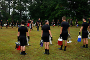 Shadow Drum and Bugle Corps performs in Michigan City, Indiana on August 7, 2018. <br /> <br /> Beth Skogen Photography - www.bethskogen.com