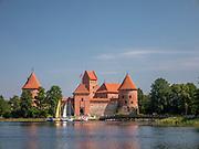 Gotycki Zamek w Trokach – położony na jeziorze Galwe na Litwie w miejscowości Troki.