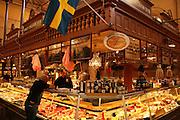Östermalms Saluhall, Food Hall, Stockholm, Sweden. Østermalms Mathall, fra 1888.