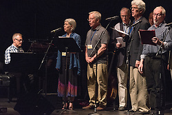 Yale Class of 1975 40th Reunion Cabaret at the Yale Drama School Theater