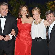 Alec Baldwin, Mariska Hargitay, Ali Wentworth and George Stephanopoulos