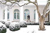 January 31, 2021 (DC): President Biden Walks Through Rose Garden At White House