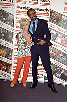 Dame Barbara Windsor at the Children's Charity Variety Great Day's Out  hosting  special The Tiger Who Came to Tea lunch party with 120 disabled and disadvantaged school children from London, Surrey and Kent at Raddison Blu, Portman Square, London 23rd September 201