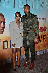 Deborah Ayorinde and Mahershala Ali attend the premiere of HBO's 'True Detective' Season 3 at Directors Guild of America on January 10, 2019 in West Hollywood, CA, USA. Photo by Lionel Hahn/ABACAPRESS.COM