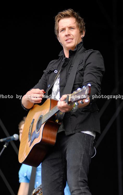 Danny Jones,Mcfly,Virgin Mobile V Festival V2009, Hylands Park, Chelmsford, Essex, Britain - 22nd Aug 2009