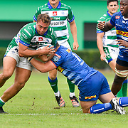 Treviso, Italy, 25/09/2021 Stadio di Monigo<br /> United Rugby Championship Benetton Vs Stormers<br /> Gianmarco Lucchesi