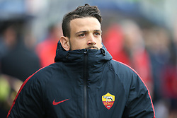 March 18, 2018 - Crotone, KR, Italy - ALESSANDRO FLORENZI of Roma during the serie A match between FC Crotone and AS Roma at Stadio Comunale Ezio Scida on March 18, 2018 in Crotone, Italy. (Credit Image: © Gabriele Maricchiolo/NurPhoto via ZUMA Press)