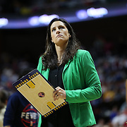 UNCASVILLE, CONNECTICUT- JUNE 5:   Indiana Fever Head Coach Stephanie White on the sideline during the Indiana Fever Vs Connecticut Sun, WNBA regular season game at Mohegan Sun Arena on June 3, 2016 in Uncasville, Connecticut. (Photo by Tim Clayton/Corbis via Getty Images)