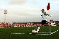 Fotball<br /> Copa America 2004<br /> Kvartfinale<br /> Peru v Argentina 0-1<br /> 17. juli 2004<br /> Foto: Digitalsport<br /> NORWAY ONLY<br /> ANDRES D'ALESSANDRO  (ARGENTINA)