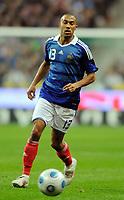 Fotball<br /> Frankrike v Østerrike<br /> Foto: DPPI/Digitalsport<br /> NORWAY ONLY<br /> <br /> FOOTBALL - FIFA WORLD CUP 2010 - QUALIFYING ROUND - GROUP 7 - FRANCE v  AUSTRIA - 14/09/2009<br /> <br /> GAEL CLICHY (FRA)