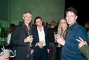 LYDIA YEE; CHRISTOPH GEROZISS; JUSTIN JONES; KIRSTEN BURROWS; JOHN BOCK, The Surreal House Barbican art gallery afterwards SURREAL DINNER at Hoxton hall. London. 9 June 2010. -DO NOT ARCHIVE-© Copyright Photograph by Dafydd Jones. 248 Clapham Rd. London SW9 0PZ. Tel 0207 820 0771. www.dafjones.com.
