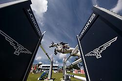 Van Asten Leopold, NED, VDL Groep Beauty<br /> Grand Prix Longines - Ville de La Baule<br /> Longines Jumping International de La Baule 2017<br /> © Hippo Foto - Dirk Caremans<br /> Van Asten Leopold, NED, VDL Groep Beauty