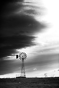 Windmill in central Montana.
