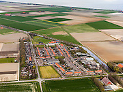 Nederland, Noord-Holland, Gemeente Wieringermeer, 16-04-2012. Wieringermeer met Kreileroord en Hooge Kwelvaart. Boven IJsselmeer...Wieringmeer polder,  newly created land 1927, part of the Zuiderzee Works..luchtfoto (toeslag), aerial photo (additional fee required);.copyright foto/photo Siebe Swart