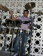**EXCLUSIVE**.Entourageís Jeremy Piven entertain the crowd by playing drums at PM Lounge .New York City, NY, United States .Wednesday, May 03, 2006.Photo By Celebrityvibe.com.To license this image please call (212) 410 5354; or.Email: sales@celebrityvibe.com ;.Website: www.celebrityvibe.com .....