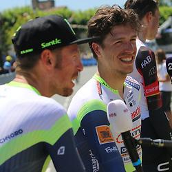 LIBOURNE (FRA) CYCLING: July 16<br /> 19th stage Tour de France Libourne- Saint-Émilion<br /> Danny van Poppel