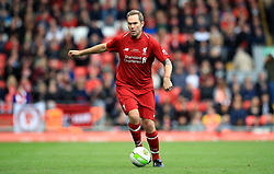 Liverpool's Jason McAteer during the Legends match at Anfield Stadium, Liverpool.