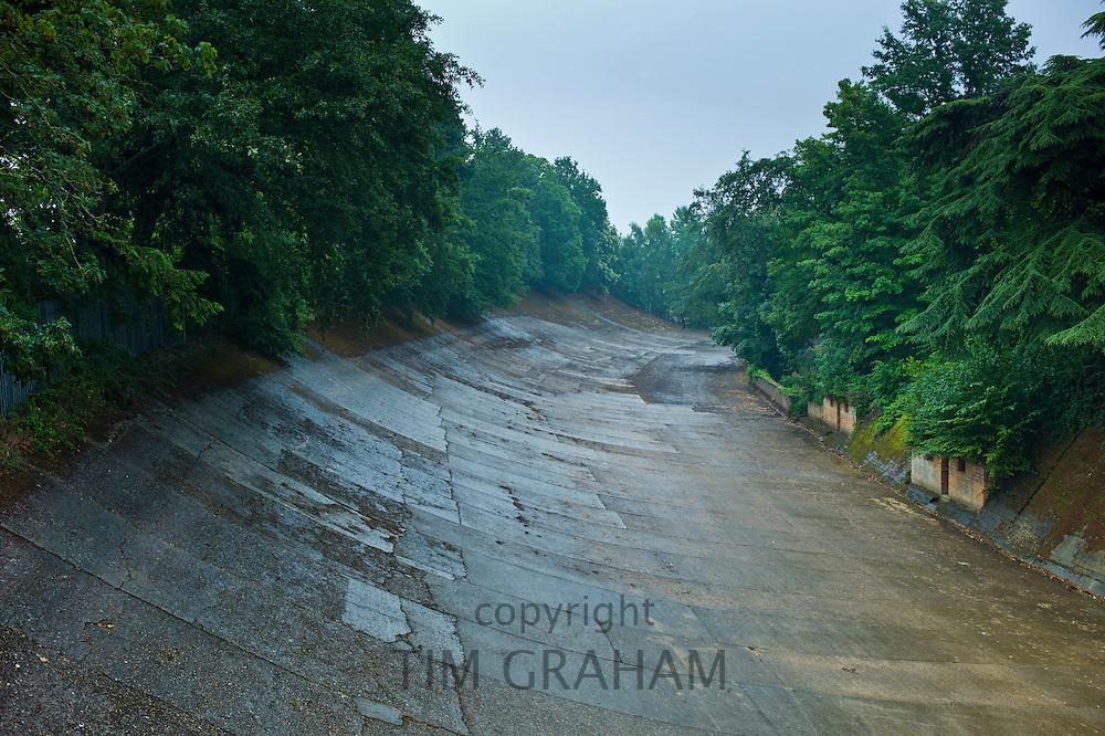 Brooklands Race Track in Surrey, UK