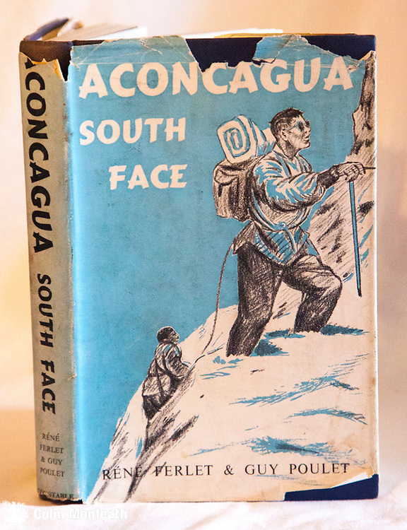 ACONCAGUA, Rene Ferlet & Guy Poulet, Constable, London, 1st UK edn., 1956, Translated from French, chipped jacket, a pioneering early climb on South Americas highest peak,  $NZ35