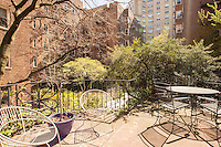 Garden Patio at 525 East 89th Street
