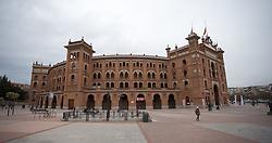 THEMENBILD - Eine Aussenansicht der Stierkampfarena Las Ventas. Die Stadt Madrid ist eine der größten Metropolen in Europa. Sie liegt im Zentrum der iberischen Halbinsel und ist Hauptstadt von Spanien. Aufgenommen am 25.03.2016 in Madrid ist Spanien // Madrid is on of the biggest metropolis in Europe. It is located in the center of the Iberian Peninsula and is the capital of Spain. Spain on 2016/03/25. EXPA Pictures © 2016, PhotoCredit: EXPA/ Jakob Gruber