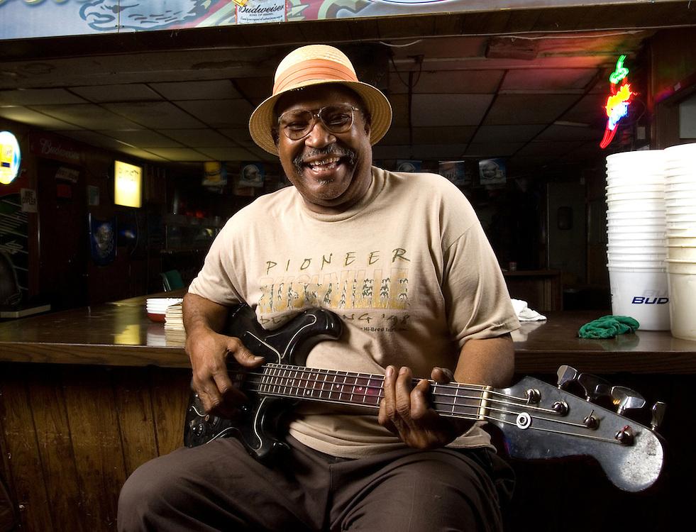 Pharr, TX - 4/24/2008<br /> Barbecue restaurant and blues club proprietor Johnny Harper