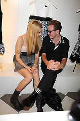PEACHES GELDOF and MAXIM NORTHOVER at the PPQ of Mayfair Summer Party at 47 Conduit Street, London on 30th July 2008.<br /> <br /> NON EXCLUSIVE - WORLD RIGHTS
