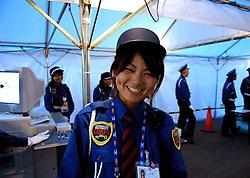30-08-2007 ATLETIEK: IAAF WORLD CHAMPIONSHIPS: OSAKA JAPAN<br /> Beveiliging politie security<br /> ©2007-WWW.FOTOHOOGENDOORN.NL