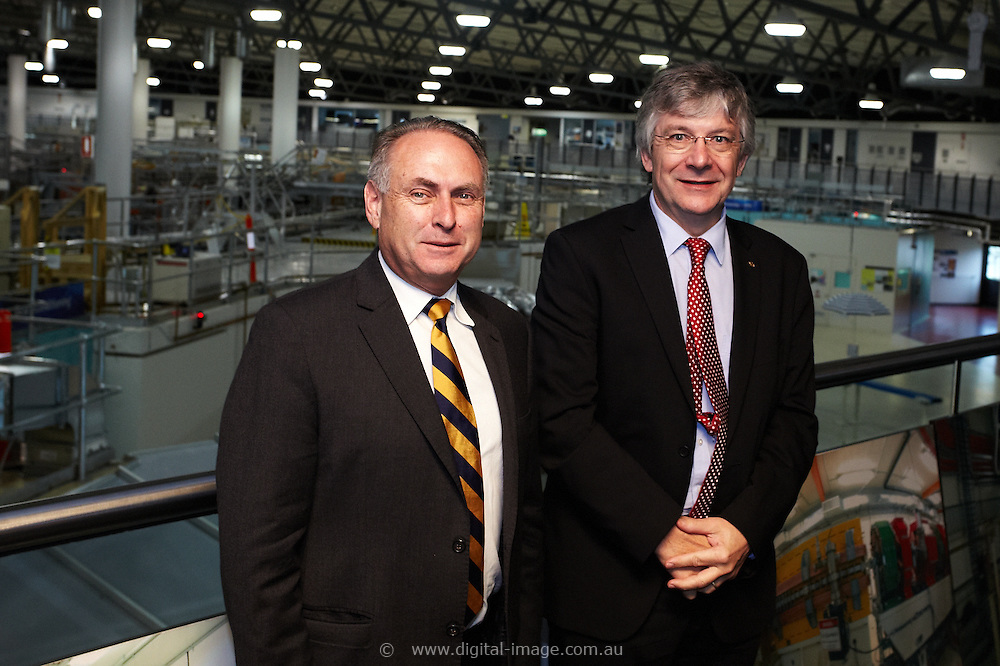 SENATOR, THE HON DON FARRELL, MINISTER FOR SCIENCE AND RESEARCH visiting the Australian Synchrotron, 11 April 2013, During the visit the Senator met with and was briefed by;<br /> <br /> Dr Adi Paterson, CEO, ANSTO<br /> Prof Andrew Peele, Interim Director, Australian Synchrotron (AS)<br /> Nadia Levin, General Manager, Government, International and External Relations, ANSTO<br /> Prof Michael James, Head of Science, AS<br /> Sarah Bartlett, Group Leader – Comms & Outreach, AS<br /> Dr David Cookson, Head of Beamline Science & Operations<br />  <br /> Dr Tom Caradoc-Davies, Principal Scientist – Macromolecular Crystallography<br /> Dr Nathan Cowieson, Senior Scientist – Macromolecular Crystallography<br /> Dr Helen Brand, Scientist, Powder Diffraction<br /> Dr Martin de Jonge, Senior Scientists – X-ray fluorescence microscopy<br /> This image is a Low Resolution image for selection purposes only and not suitable for print.  Please contact Digital Image with your high resolution requirements.<br /> <br /> Digital Image<br /> studio@digital-image.com.au<br /> 03 9537 0588 high res version IS available on this site