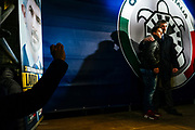 Simone Di Stefano. Casapound electoral campaign closing rally at Piazza della Rotonda in Rome on 1 Febraury 2018. Christian Mantuano / OneShot