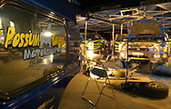 Subaru Rally Team Australia Night Service.2003 Rally of Canberra .Canberra, ACT, Australia.25-27th of April 2003.(C) Joel Strickland Photographics