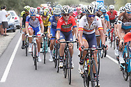 Gorka Izaguirre (ESP - Bahrain - Merida) - Ion Izagirre (ESP - Bahrain - Merida), during the UCI World Tour, Tour of Spain (Vuelta) 2018, Stage 9, Talavera de la Reina - La Covatilla 200,8 km in Spain, on September 3rd, 2018 - Photo Luis Angel Gomez / BettiniPhoto / ProSportsImages / DPPI