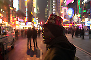 31 December 2009- New York, New York- Atmosphere on New Years Eve in 42 street area of Times Square. Photo Credit: Terrence Jennings/SIPA USA