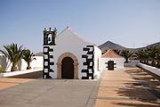 Church in Tindaya, Fuerteventura, Spain.
