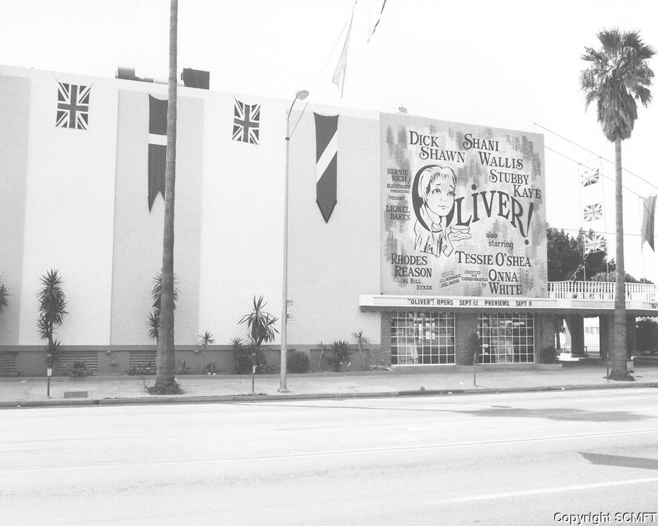1979 Aquarius Theater on Sunset Blvd. at Argyle St.