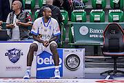 DESCRIZIONE : Beko Legabasket Serie A 2015- 2016 Dinamo Banco di Sardegna Sassari - Enel Brindisi<br /> GIOCATORE : Christian Eyenga<br /> CATEGORIA : Ritratto Before Pregame<br /> SQUADRA : Dinamo Banco di Sardegna Sassari<br /> EVENTO : Beko Legabasket Serie A 2015-2016<br /> GARA : Dinamo Banco di Sardegna Sassari - Enel Brindisi<br /> DATA : 18/10/2015<br /> SPORT : Pallacanestro <br /> AUTORE : Agenzia Ciamillo-Castoria/L.Canu