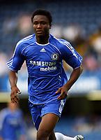 John Obi Mikel<br />Chelsea 2006/07<br />Chelsea V Celtic Pre Season Friendly <br />at Stamford Bridge 09/08/06<br />Photo Robin Parker Fotosports International
