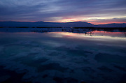 Israel, Dead Sea at dawn