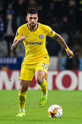 February 14, 2019 - MalmÃ, Sweden - 190214 Emerson Palmieri of Chelsea in action during the Europa league match between Malmö FF and Chelsea on February 14, 2019 in Malmö..Photo: Ludvig Thunman / BILDBYRÃ…N / kod LT / 92225 (Credit Image: © Ludvig Thunman/Bildbyran via ZUMA Press)
